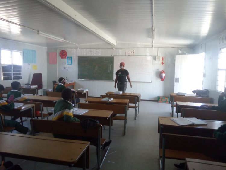 WPDI teach Conflict Resolution to youth in schools in Cape Town