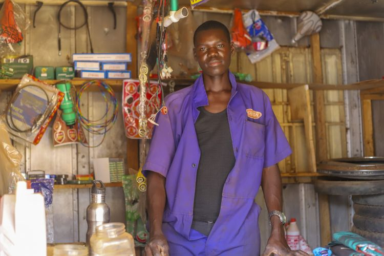 A new business in Uganda supported through WPDI's Business Boot Camp program