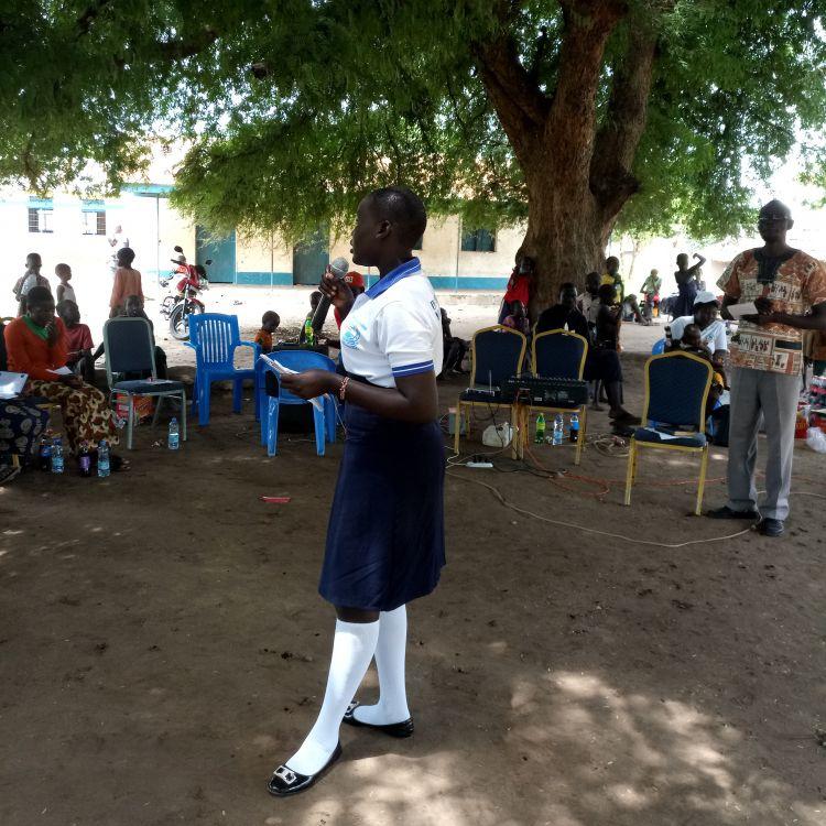 UN Women speaking out in South Sudan