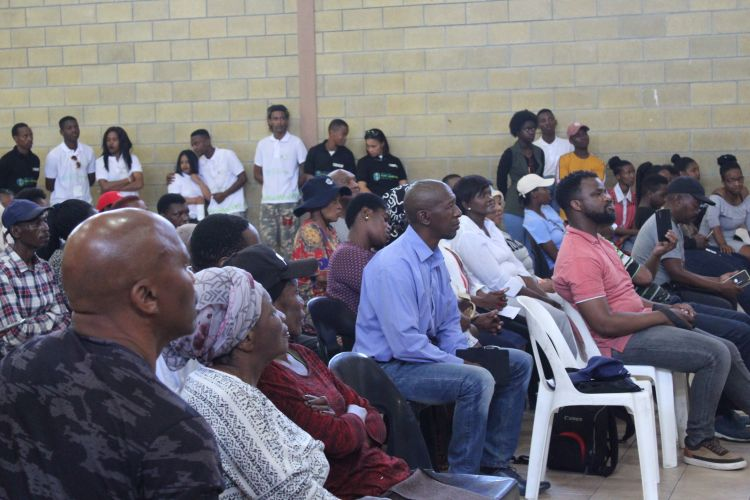 The people of Cape Town sit down for a Community Dialogue led by WPDI