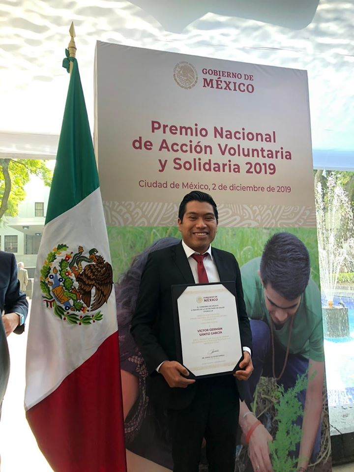Victor Santiz Garcia Wins Mexico's National Award for Voluntary and Solidarity Action
