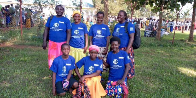 Women celebrate World Refugee Day in Uganda