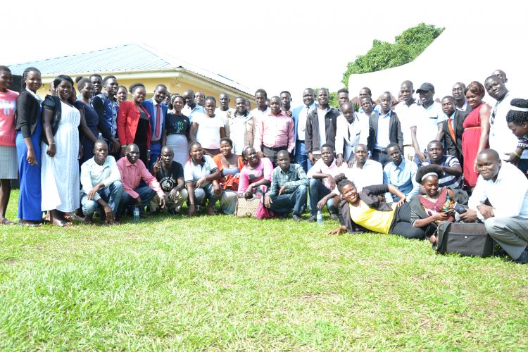 Youth at the Business Plan Competition in Acholi Sub-Region