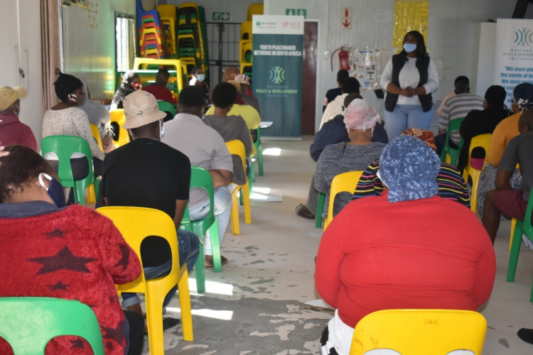 WPDI teaches over 100 community leaders in Cape Town about Conflict Resolution