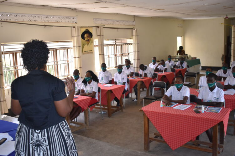 Youth in Karamoja learn to foster transformation & resilience from WPDI