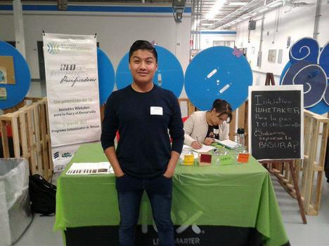 Carlos, a WPDI youth peacemaker from Tijuana, Mexico