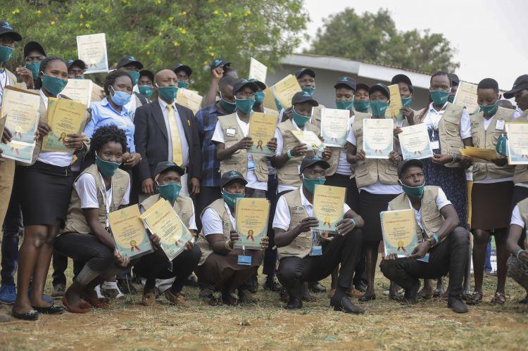 New cohort of Youth Peacemakers graduate from their training in Karamoja, Uganda