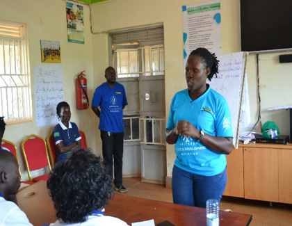 Training at the Community Learning Center
