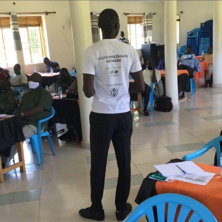 WPDI training community leaders in Karamoja