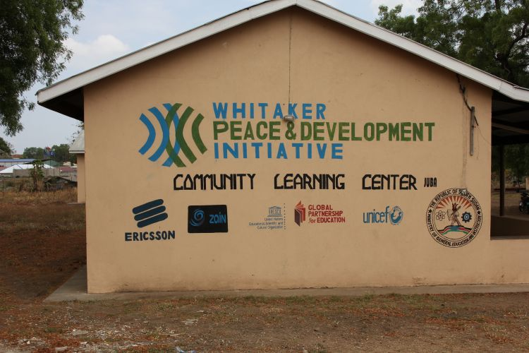 Community Learning Center in South Sudan