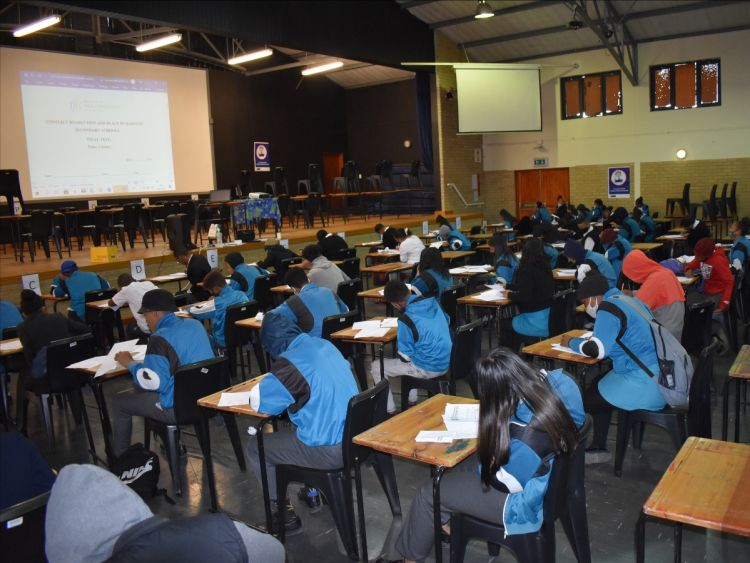 Students learn about Conflict Resolution in South Africa