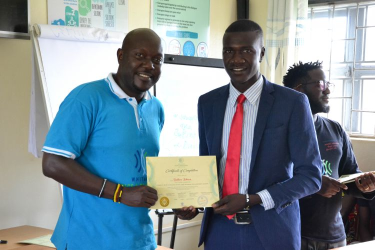 Youth graduate from WPDI Training
