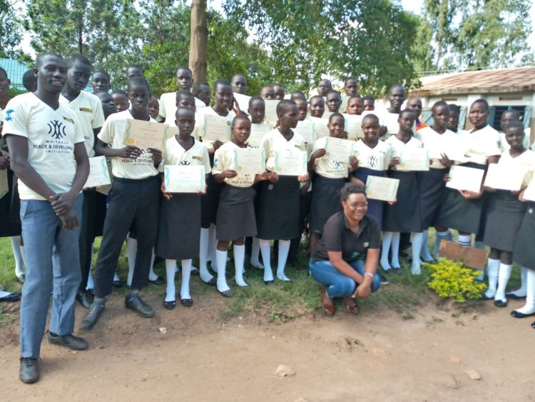 Students graduate from Conflict Resolution Education in Uganda