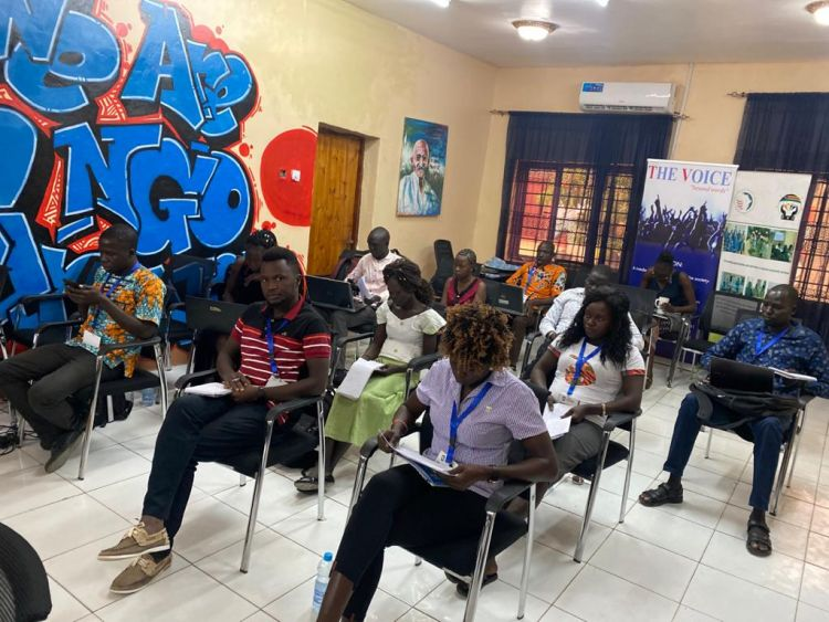 Youth learn about Entrepreneurship in WPDI's Business Boot Camp program in South Sudan