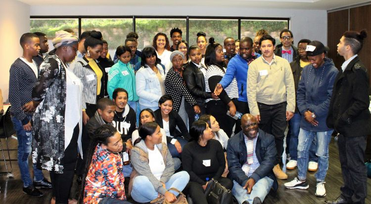 Youth chosen to join the YPN in South Africa