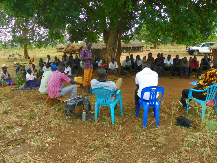 Resolving conflict through Community Dialogues