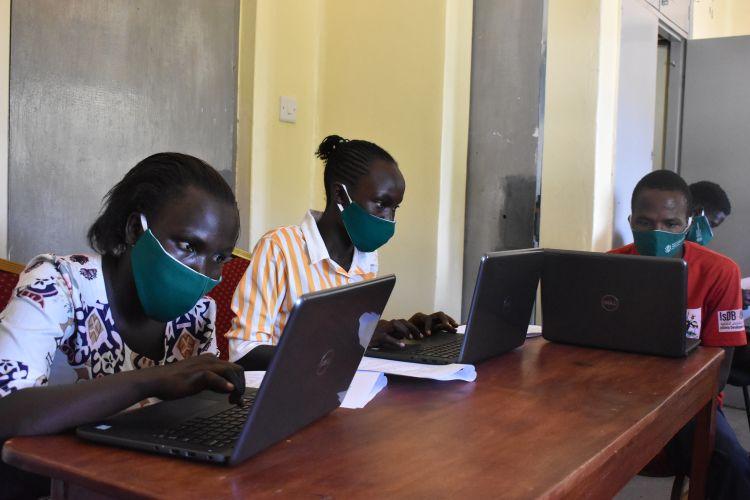 Youth from WPDI in a Vocation Course in Karamoja, Uganda