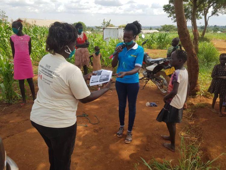 Esther Areymo, a WPDI Youth Peacemaker in Uganda