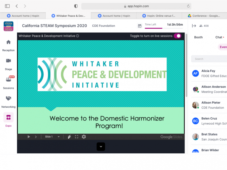 WPDI introduced the Domestic Harmonizer Program at two US conferences