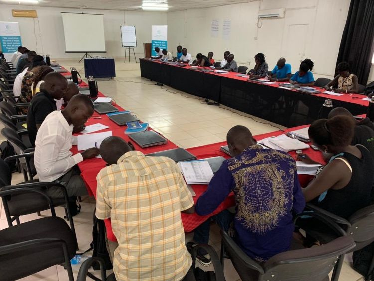 Youth Peacemakers take final exam