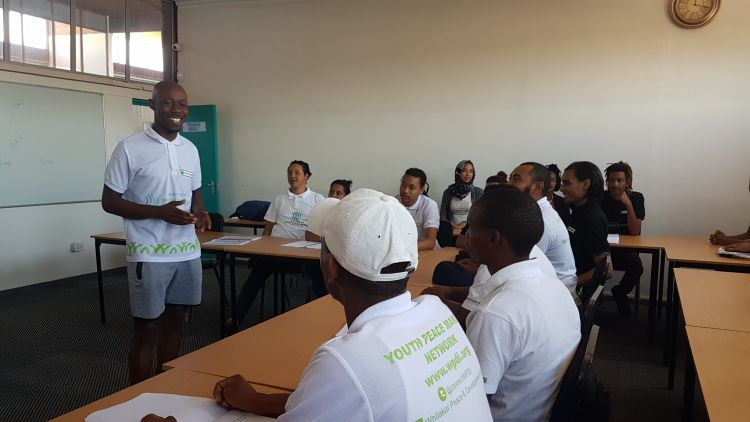 Training led by youth in South Africa