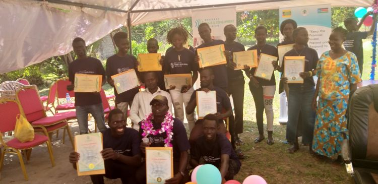 250 youths graduating in South Sudan from WPDI Vocational Trainings