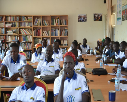 Class at the Community Learning Center