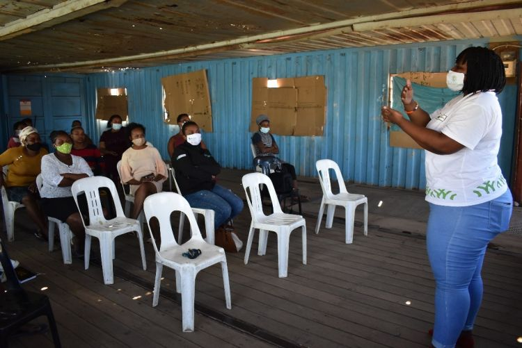 Community leaders in Cape Town learn about Conflict Resolution from WPDI
