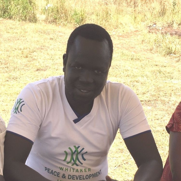 Martin, a WPDI youth peacemaker from South Sudan