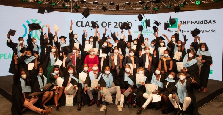42 young locals from Cape Flats, South Africa, graduate from WPDI's Youth Peacemaker Network Program