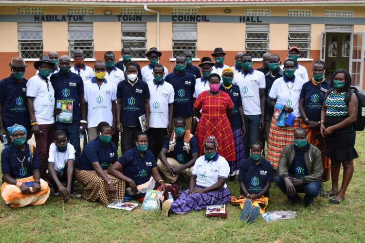 161 Community leaders in Karamoja taught by WPDI