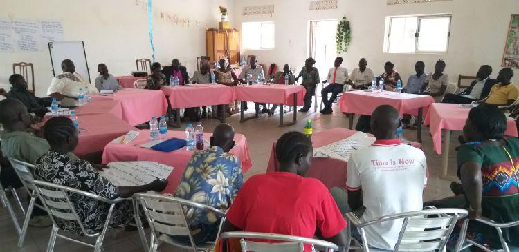 Community Dialogue held in South Sudan for the Madi Community