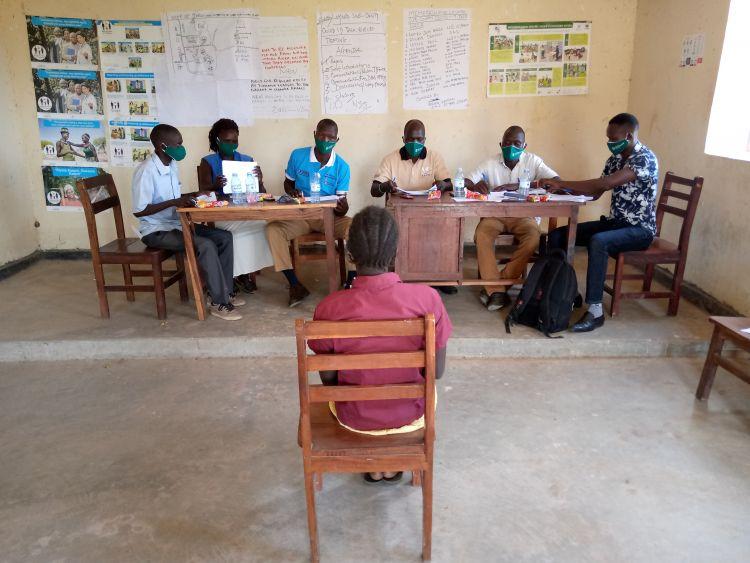WPDI interviewing youth in Karamoja