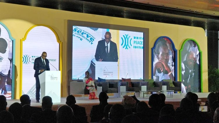 Forest Whitaker at the Transformers Summit in Dakar Senegal