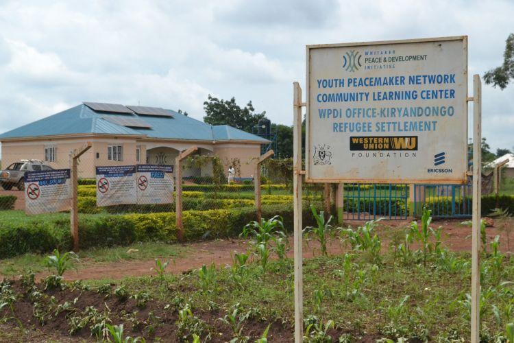 Community Learning Center in Kiryandongo Refugee Settlement