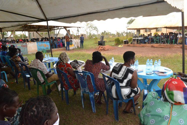 WPDI teaches 285 women at the Kiryandongo Refugee Settlement about business and entrepreneurship
