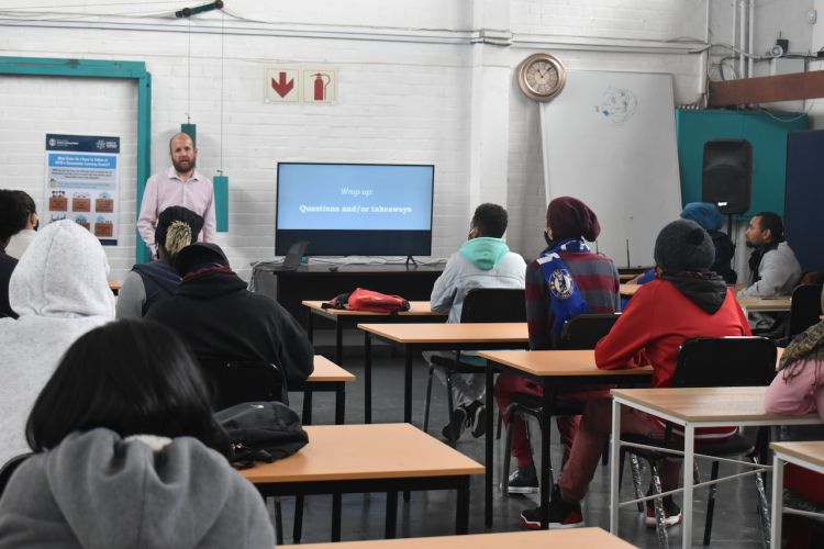 Cape Flats youth learn about Business and Entreprenuership