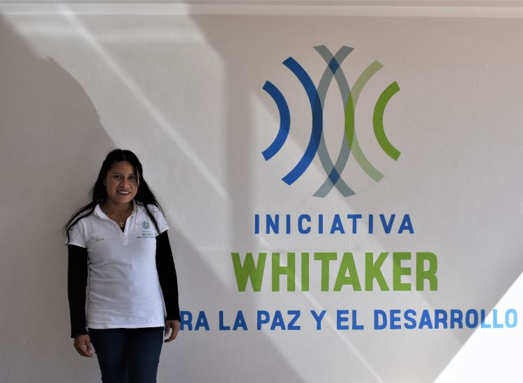Rosa Maribel, a Youth Peacemaker for WPDI