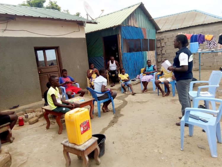 WPDI youth lead community to protect from Covid-19