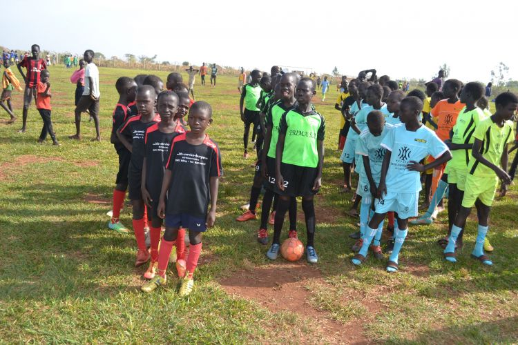 Teams of children line up for 3rd annual Whitaker Peace Cup
